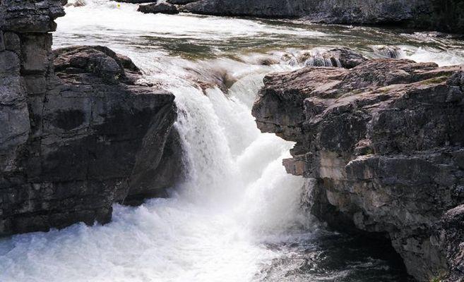 Wasserfall in Alberta