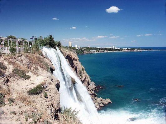 Wasserfall in Antalya