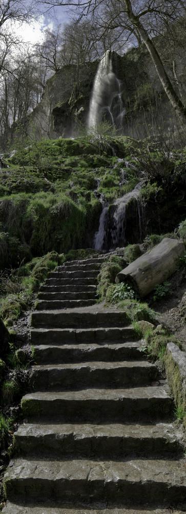 Wasserfall in Bad Urach