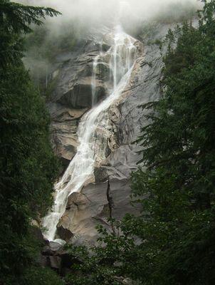 Wasserfall in British Columbia