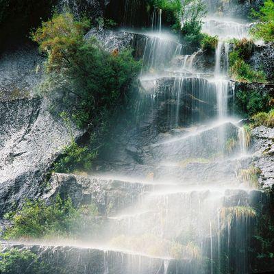 Wasserfall in den Anden