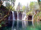 Wasserfall in den Plitwitzer Seen
