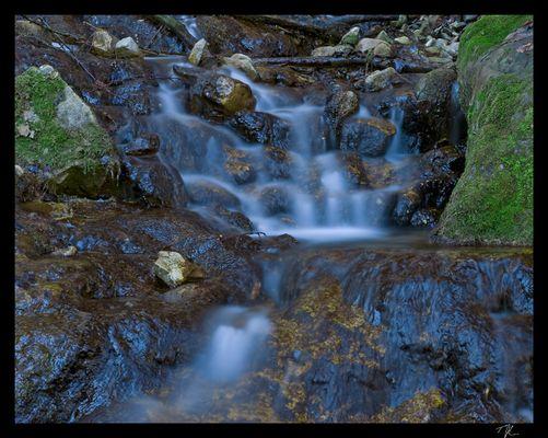 Wasserfall in der Jaunbachschlucht (FR)