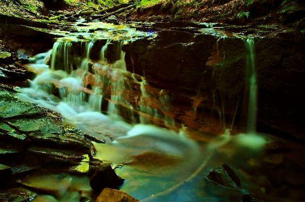 Wasserfall in der Kaskadenschlucht