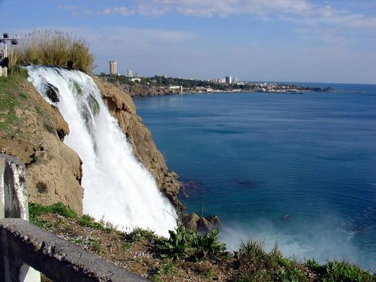 Wasserfall in der Türkei