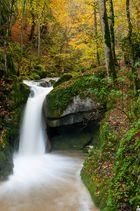 Wasserfall in der Twannbachschlucht