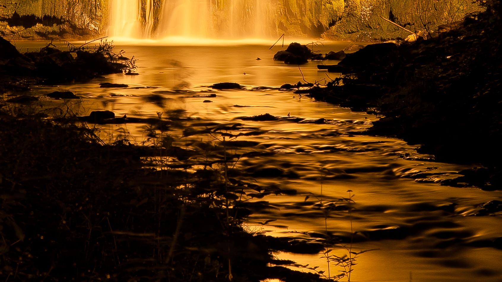 Wasserfall in Heilbad Heiligenstadt ...