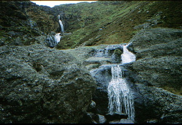 Wasserfall in Irland
