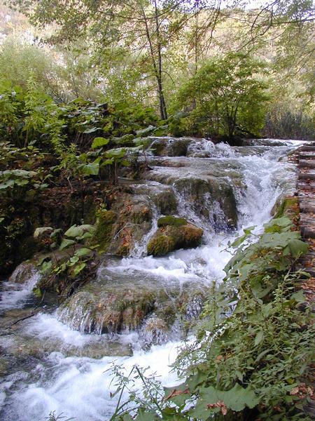 Wasserfall in Istrien