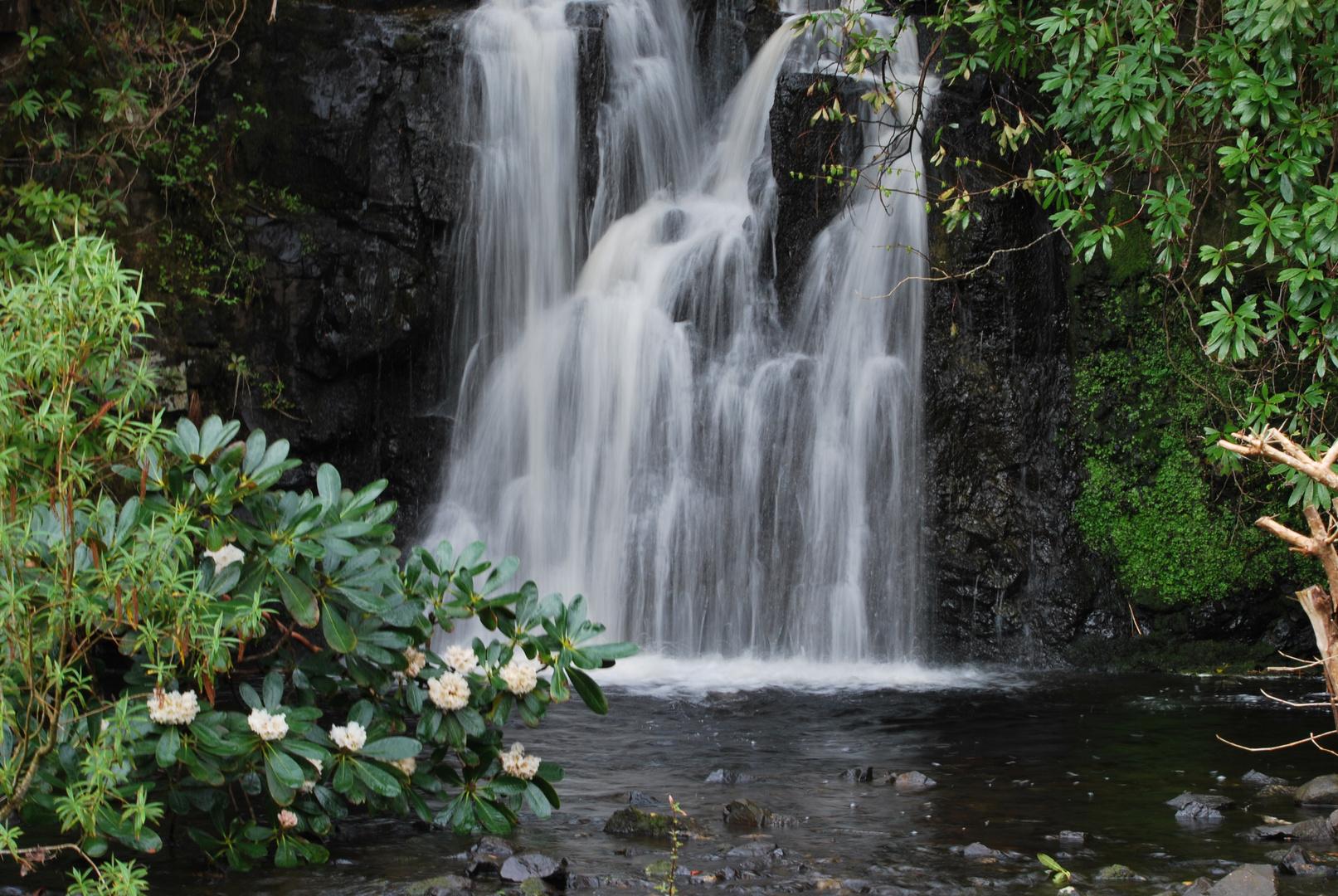 Wasserfall in Schottland