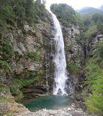 Wasserfall in Sonogno Verzascatal