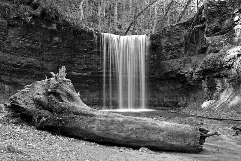 Wasserfall in sw