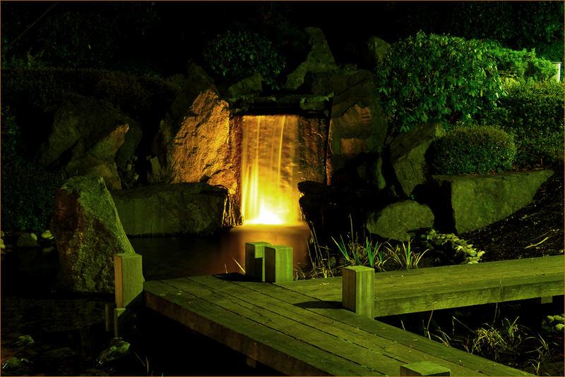 Wasserfall Japanischer Garten