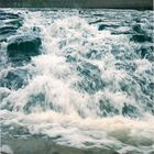 Wasserfall mit lange Verschlusszeit
