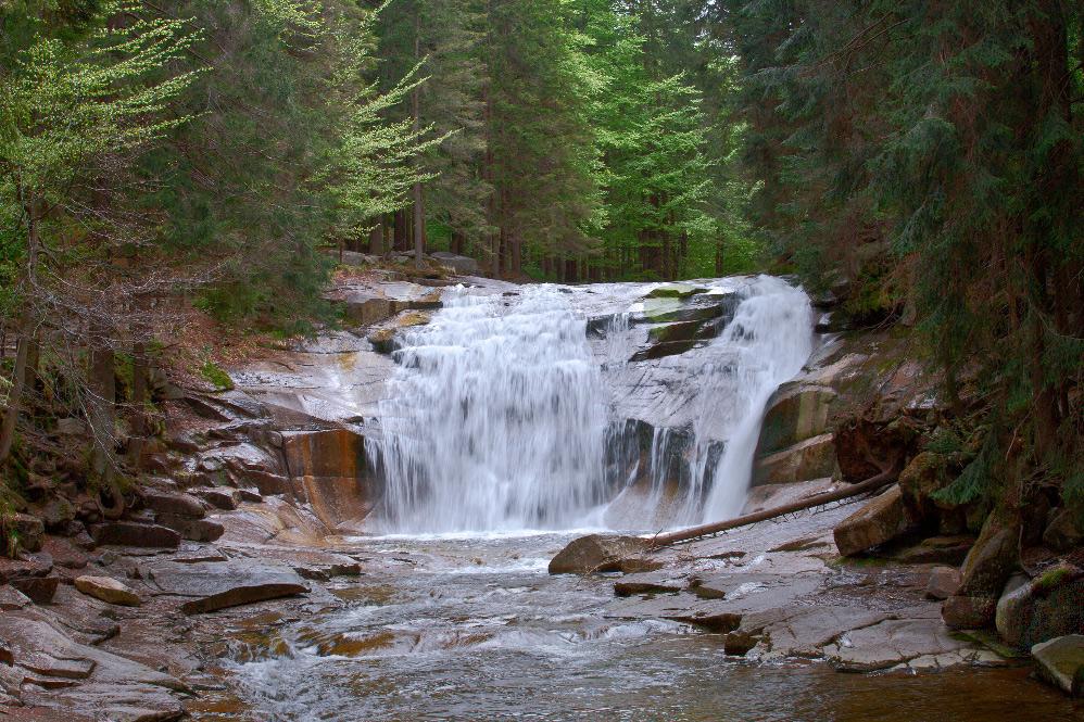 Wasserfall Mumlava