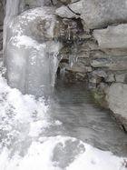 Wasserfall oder Rinnsal??