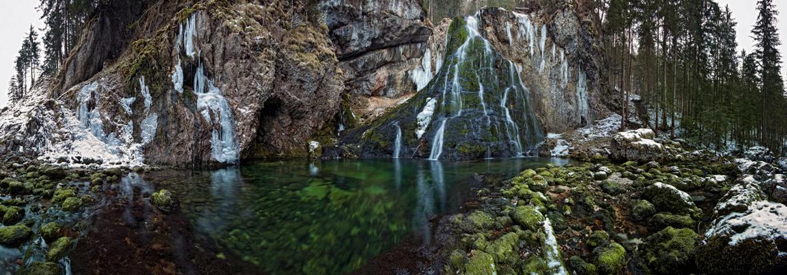 Wasserfall Pano