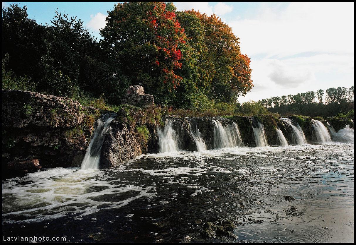 Wasserfall Rumba (Rummel) in Kuldiga