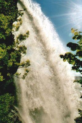 Wasserfall Steinsdalsfossen