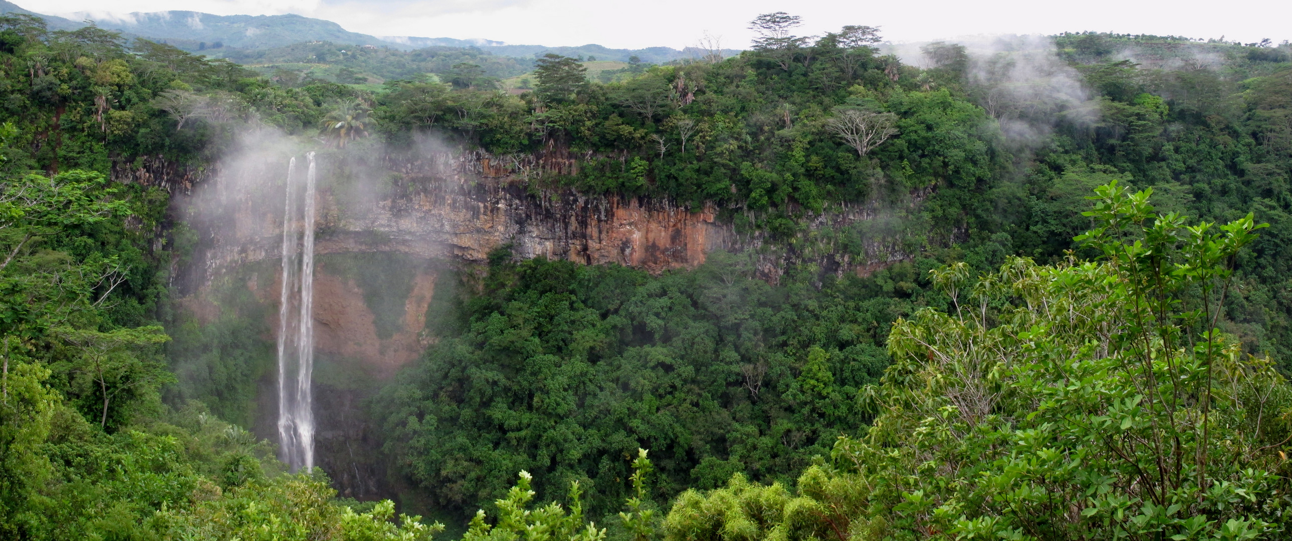 Wasserfall von Chamarel