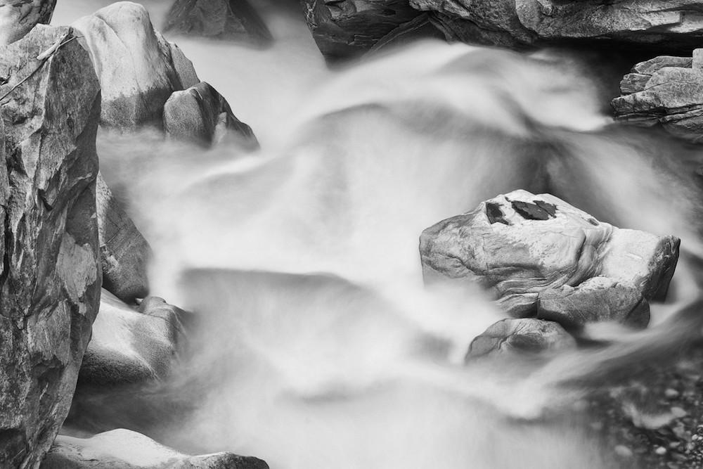 """Wasserfall """"weichgespült"""""""