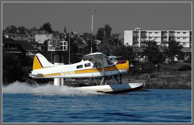 Wasserflugzeug auf Vancouver Island