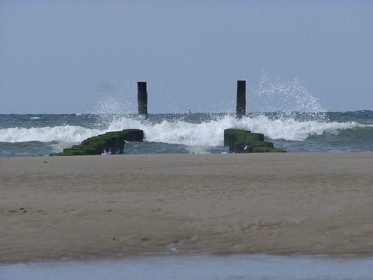 Wassergewalt und der direkte Weg zum Meer