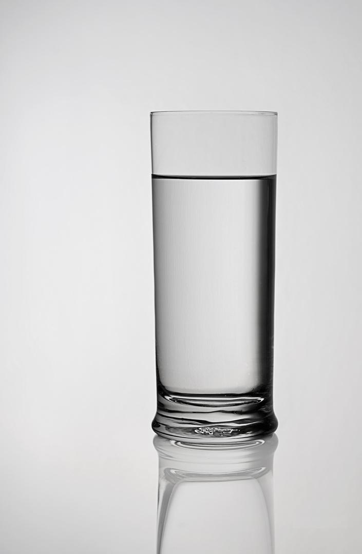 Wasserglas pur