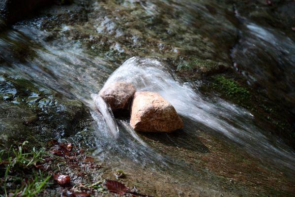 Wasserhinderniss