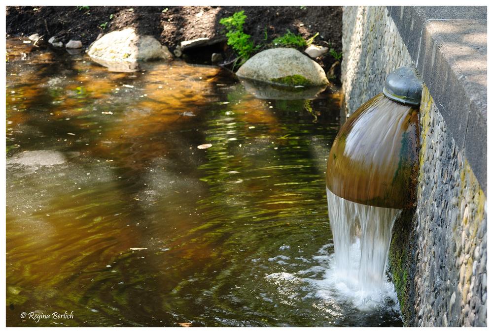 Wasserlauf...