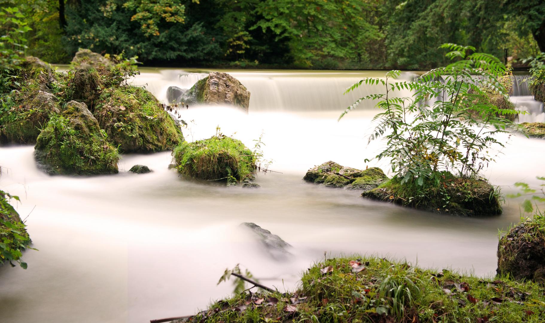 Wasserlauf im Park
