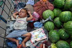 Wassermelonen und süße Träume