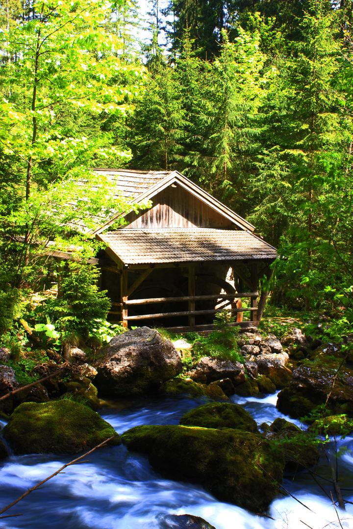 Wassermühle am Schwarzenbach