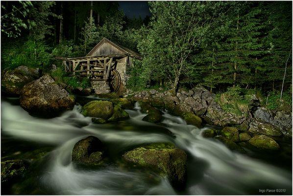 - Wassermühle bei Golling -