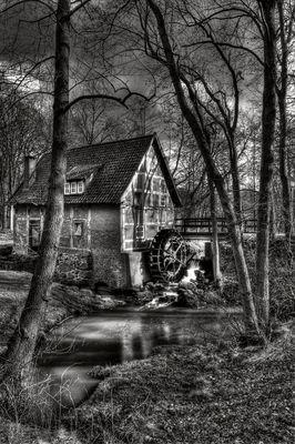 Wassermühle Heinefelde