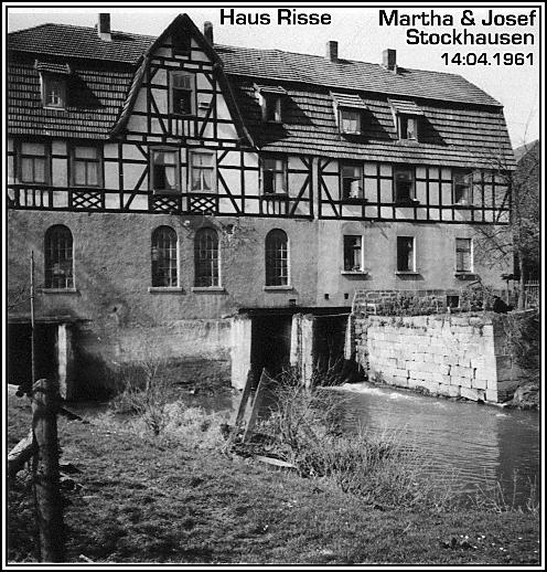 Wassermühle Hünhan, Haus Risse