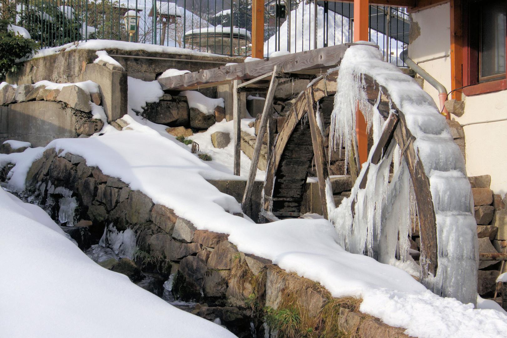 Wassermühle im kleinen Wiesental