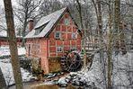 Wassermühle - Winterstyle