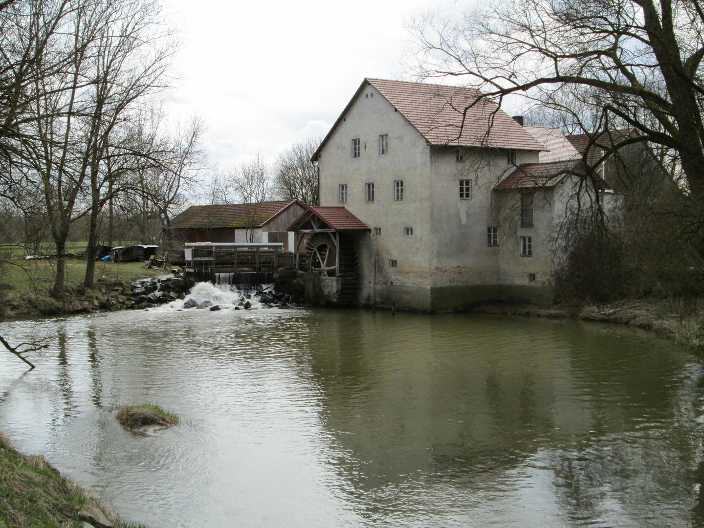 Wassermühle Zusmarshausen Wollbach 1-3