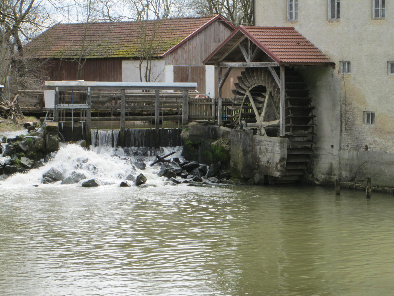 Wassermühle Zusmarshausen Wollbach 3-3