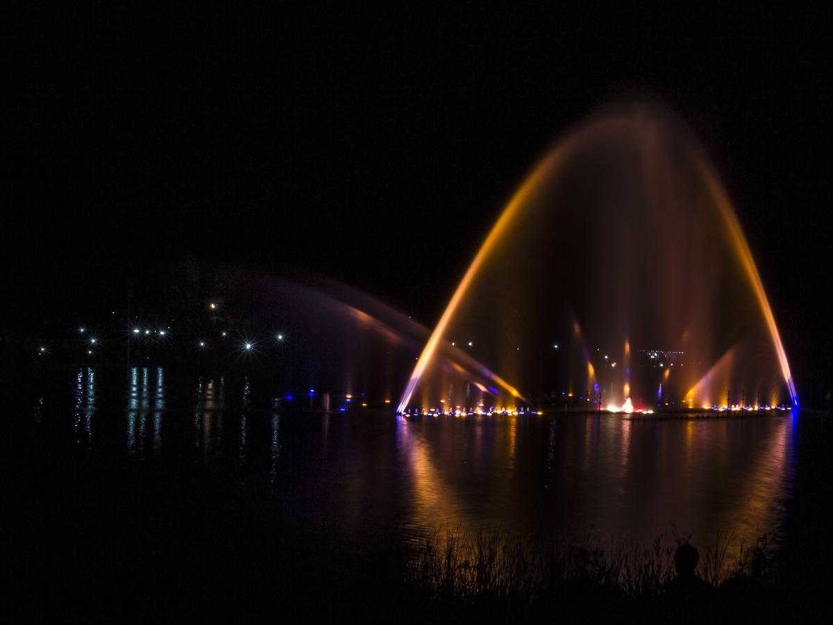 Wasserorgel in Hamburg