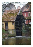 Wasserrad für Stromerzeugung