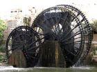 Wasserräder von Hama