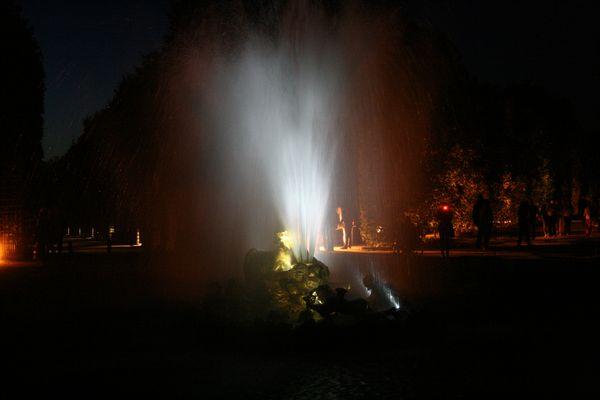 Wasserschauspiel in Versailles