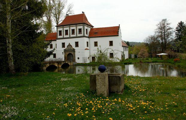 Wasserschloss Hainewalde zum Ostermontag 2014