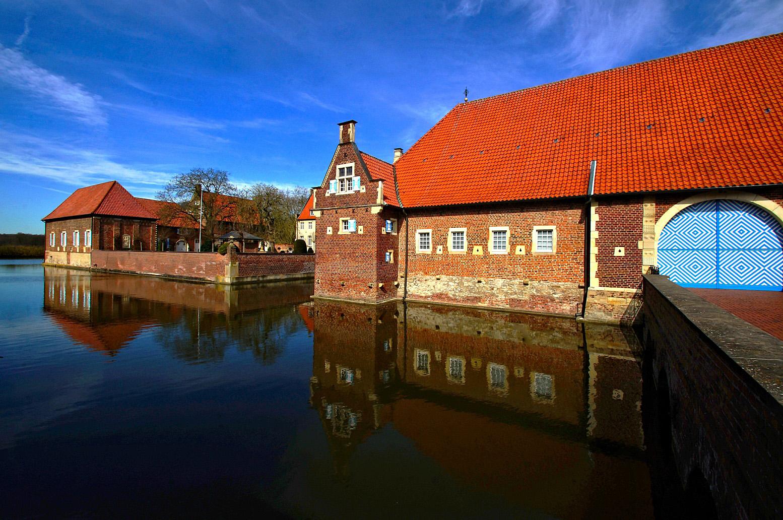 Wasserschloss Haus Borg.