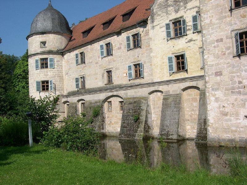 Wasserschloss in Mitwitz, Frankenwald