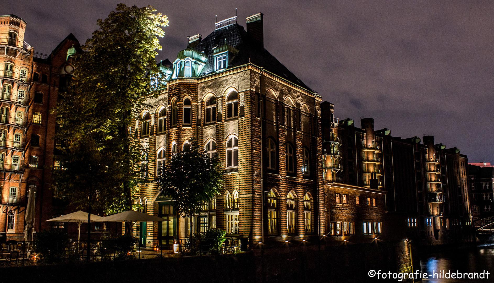 Wasserschloss Speicherstadt