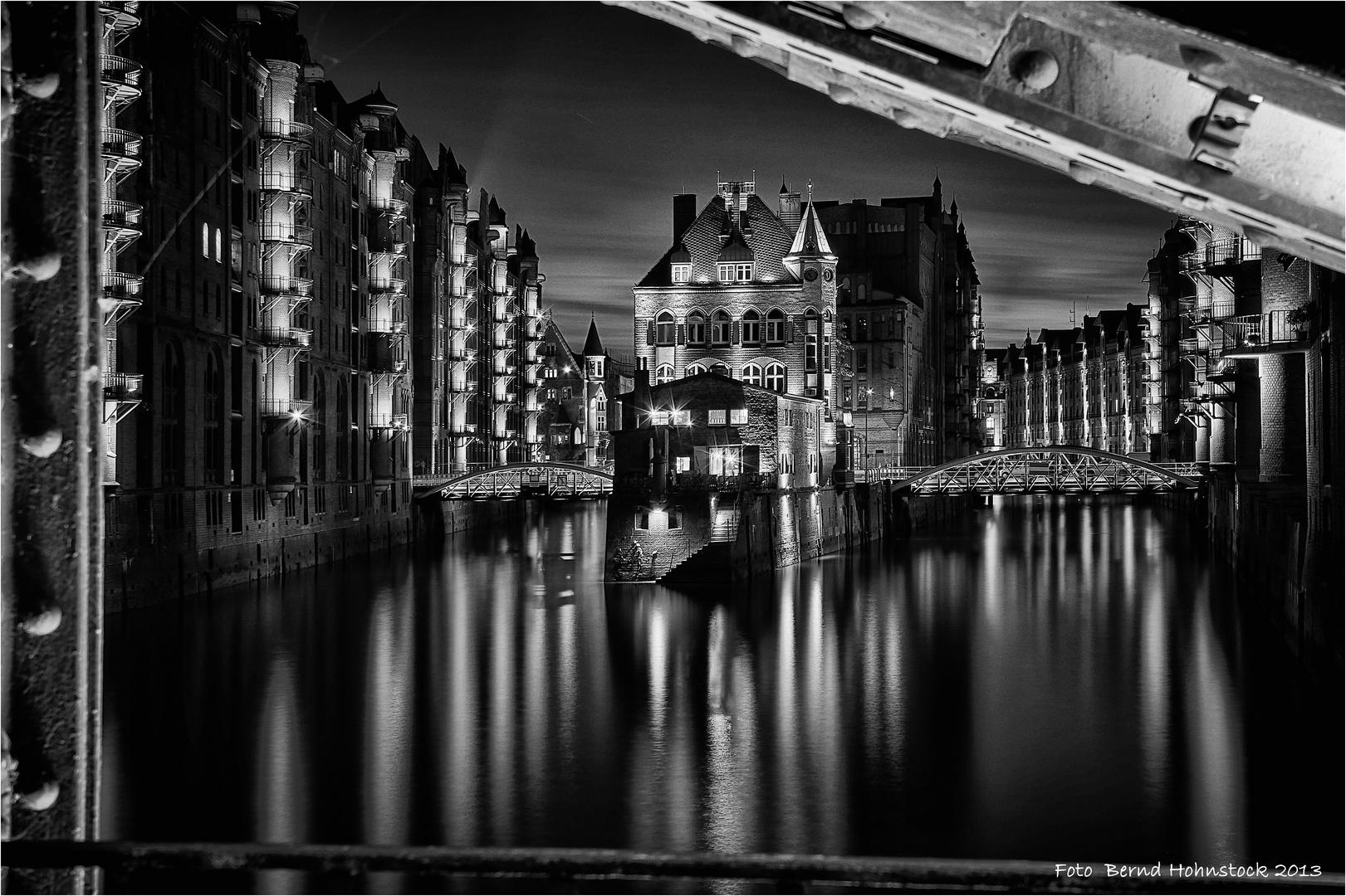 Wasserschloss und Teekkontor zu Hamburg
