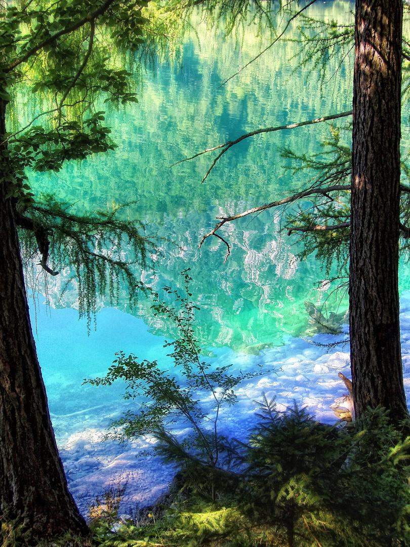 Wasser~Spiegel~Berge